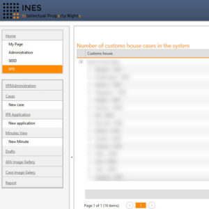 INES+: Intellectual Property Rights Software